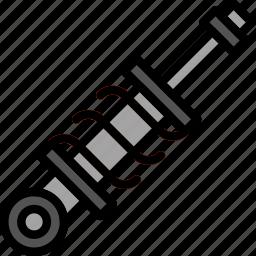 car, damper, part, vehicle icon