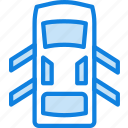 car, doors, open, part, vehicle icon