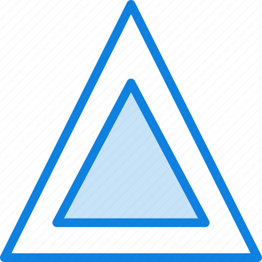 car, part, triangle, vehicle, warning icon