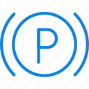 brake, car, light, parking, part, vehicle icon
