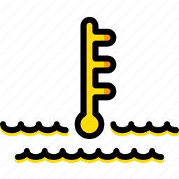 car, part, temperature, vehicle, warning icon