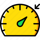 car, high, part, speed, vehicle, warning icon