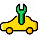 car, due, part, service, vehicle icon