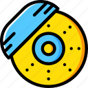 break, car, disk, part, vehicle icon