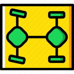 car, control, part, traction, vehicle icon