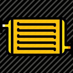 car, part, radiator, vehicle icon