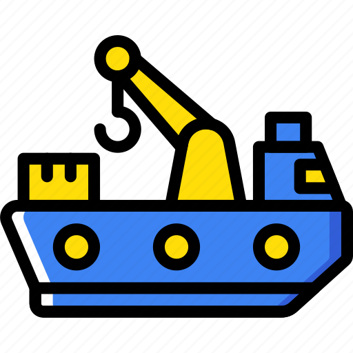 delivery, naval, shipping, transport icon