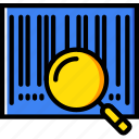 bar, code, delivery, scanner, shipping, transport icon