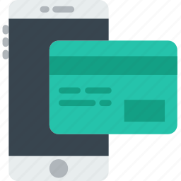 delivery, mobile, pay, shipping, transport icon