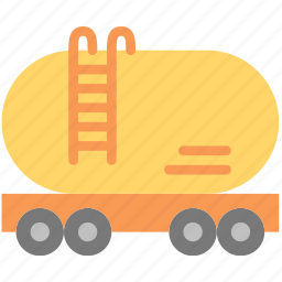 delivery, petrol, shipping, transport icon