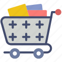 cart, delivery, full, shipping, transport