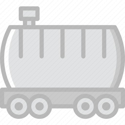 delivery, shipping, train, transport icon