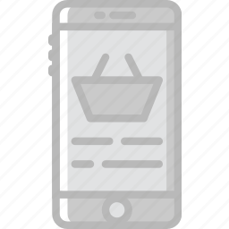 delivery, mobile, shipping, shopping, transport icon