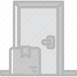 delivery, home, shipping, transport icon