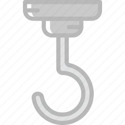 delivery, hook, shipping, transport icon
