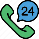 call, center, delivery, non, shipping, stop, transport icon