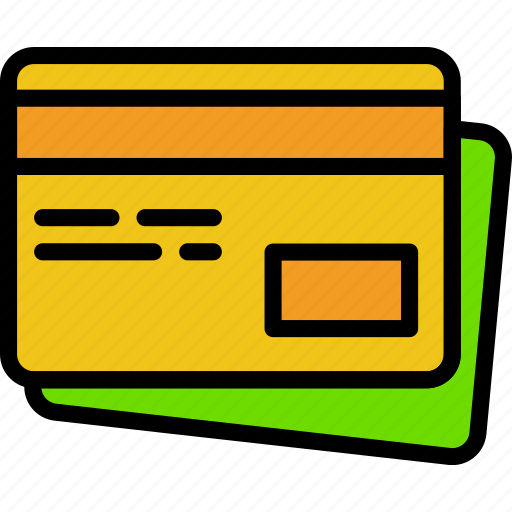 cards, credit, delivery, shipping, transport icon