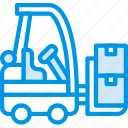 delivery, forklift, shipping, transport
