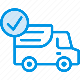 delivery, shipping, success, transport icon