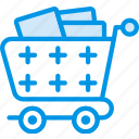 delivery, cart, full, shipping, transport