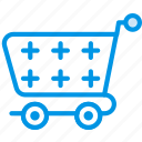 delivery, cart, empty, transport, shipping