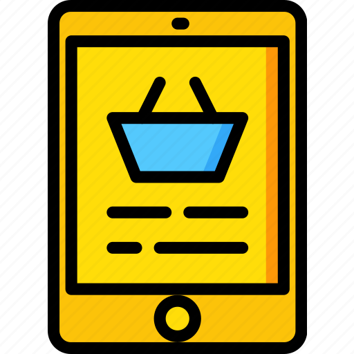 delivery, shipping, shopping, tablet, transport icon