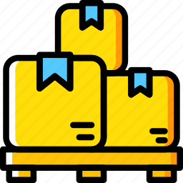 boxes, delivery, shipping, transport icon