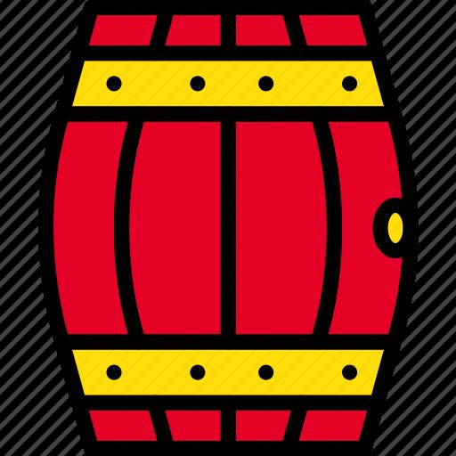 agriculture, barrel, farming, garden, nature icon