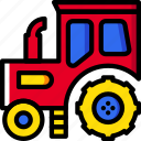 farming, agriculture, garden, tractor, nature