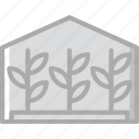 agriculture, farming, garden, greenhouse, nature icon