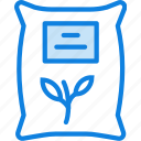 plant, garden, nature, sack, farming, agriculture icon