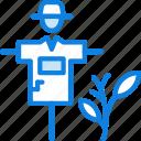 agriculture, farming, garden, nature, scarecrow