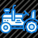 farming, agriculture, garden, tractor, nature icon