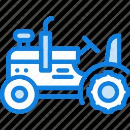 agriculture, farming, garden, nature, tractor icon