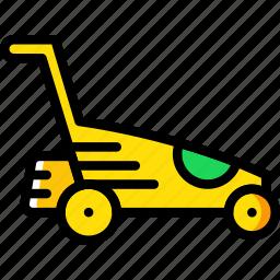 agriculture, farming, garden, landmower, nature icon
