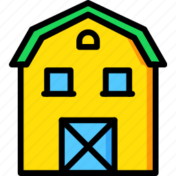 agriculture, barn, farming, garden, nature icon