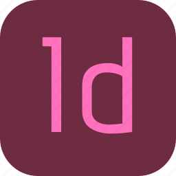 adobe, document, extension, file, indesign icon