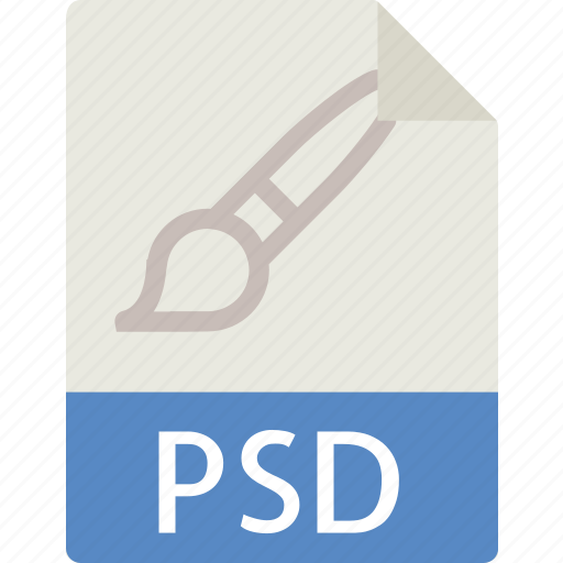 data, design, document, extension, file, psd icon