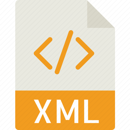 data, document, extension, file, xml icon