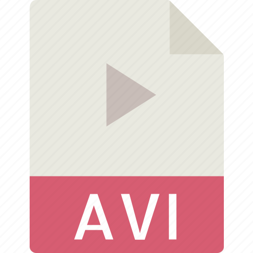 avi, data, document, extension, file icon