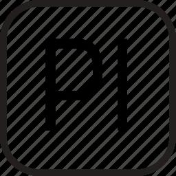 adobe, data, document, extension, prelude icon