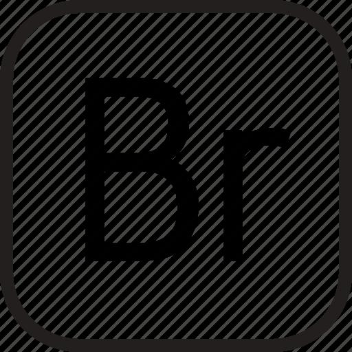 adobe, bridge, data, document, extension icon