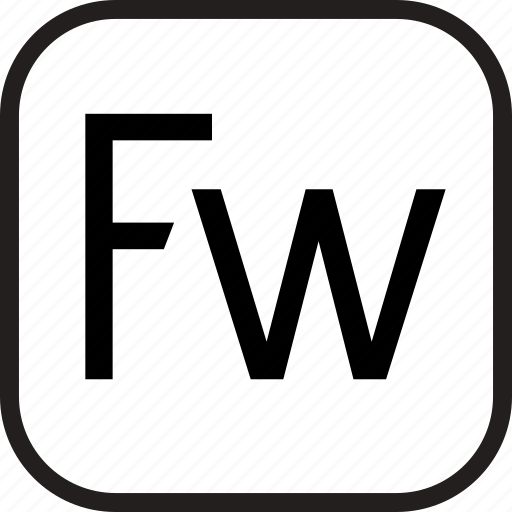 adobe, data, document, extension, fireworks icon