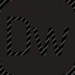 adobe, data, document, dreamweaver, extension icon