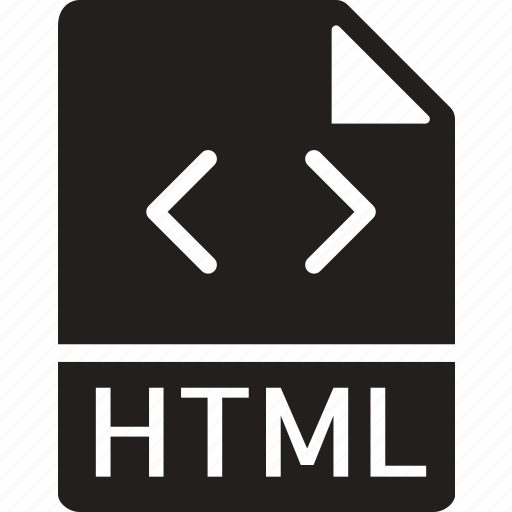 data, document, extension, file, html icon