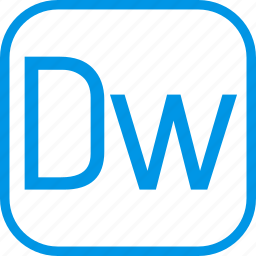 adobe, data, document, dreamweaver, extension icon