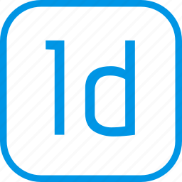 adobe, data, document, extension, indesign icon