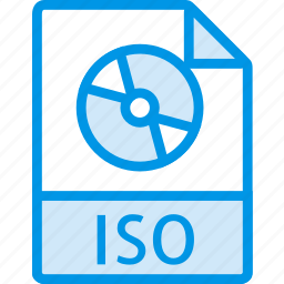 data, document, extension, file, iso icon