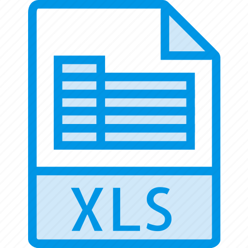 data, document, extension, file, xls icon