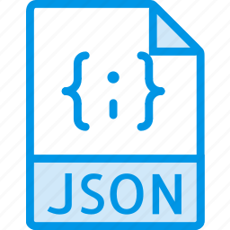 data, document, extension, file, json icon
